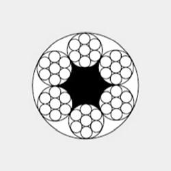 6x7+FC 航空用钢丝绳