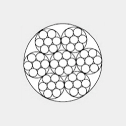 6x7+IWS 一般用途钢丝绳