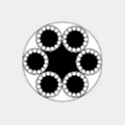 6x15+7FC 一般用途钢丝绳